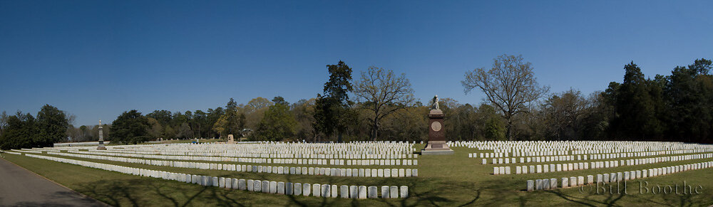 Panorama of Andersonville National Cemetery
